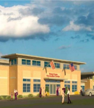 Rendering of Barry Farm Recreation Center