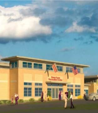 Rendering of Barry Farm Recreation Center