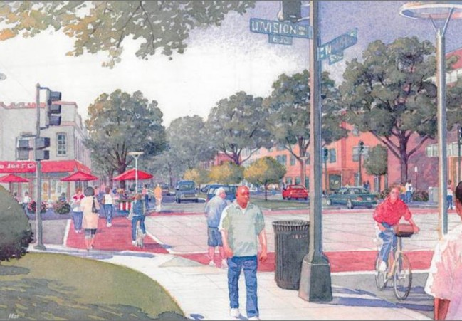 Rendering of Lincoln Heights