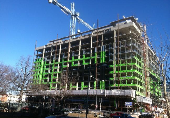 2 M Street under construction