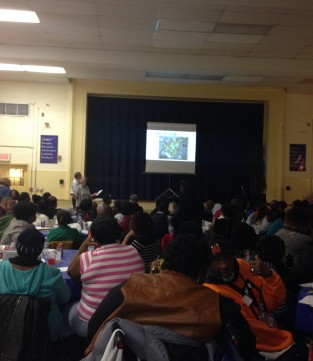 Barry Farm community meeting and charette