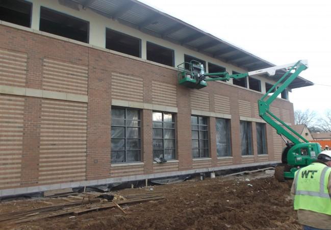 Barry Farm recreation center under construction