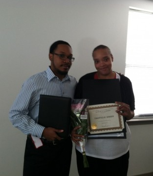 Community resident receiving case management certificate