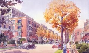 rendering of Park Morton