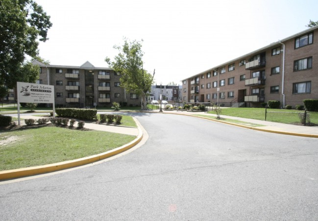 Park Morton housing